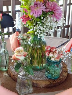 Kim and Jason's Wedding: Cupcakes and Abudant Flowers | Lenora's Legacy Estate www.lenoraslegacy.com