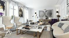 Chic Apartment In Paris | Interior Design Files