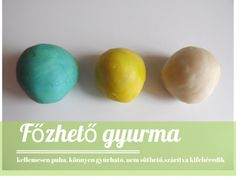 fozheto-gyurma-1 Diy And Crafts, Crafts For Kids, Arts And Crafts, Salt Dough, Diy Toys, Clay, Homemade, Breakfast, Slime