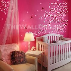 Find the best Kids Wall Decals, tree wall decals,cherry blossom wall decals, nursery wall decals, children wall decals.
