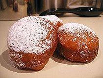Serbian Doughnut Recipe - Krofne: Serbian Doughnuts or Krofne. The website includes a recipe and more information on Serbia.