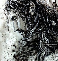 Thorin by evankart...favorite artist in the entire fandom...wow. Just stunning!