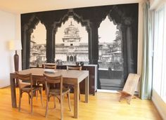 Papier peint Indian Palace http://www.ohmywall.com/product/Papier-peint-Photographie-Panoramique-Indian-Palace