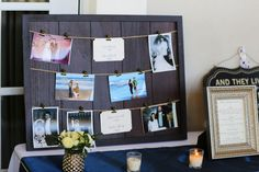 Memorial Display - Photo by Heather Rice Photography - Ocala Golf and Equestrian Club - click pin for more - www.orangeblossombride.com