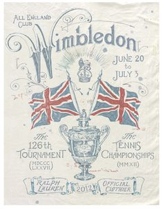 ralph lauren   2012   tennis   wimbledon   www.republicofyou.com.au #RalphLaurenSS14
