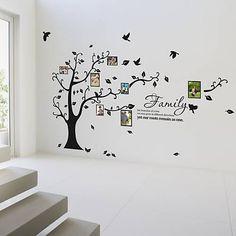 Günstige Stammbaum Wand Decalremove Wand Kleben Foto Baum Wandsticker  Speicher Baum Bilderrahmen Neue Vinyl Wandtattoo, Kaufe Qualität Wand Aufu2026  | Deko ...