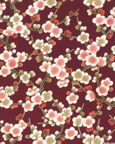 Nobu Fujiyama Serene - Plum Blossom Spring - Lacquer Red/Gold