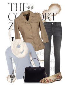 """""""The comfort zone...."""" by kimby72 ❤ liked on Polyvore featuring Maje, Jil Sander Navy, Kate Spade, Bettye Muller, Athleta, NOVICA, Movado, women's clothing, women's fashion and women"""