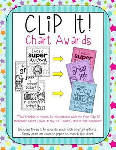 If you've been reading my blog for a while, you know that I'm relatively new to the clip chart. I used to flip cards for behavior, but de...