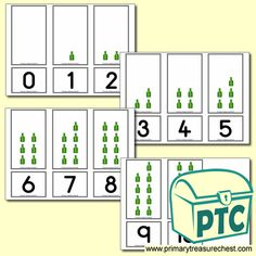 Number Shapes 0 to 10 - Maths Resources - Foundation Phase - Primary Treasure Chest Teaching Activities, Math Resources, Teaching Math, Teaching Ideas, Numicon, Child Teaching, Number Games, Shaped Cards, Matching Cards