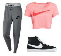 """Nike"" by amybrn on Polyvore"