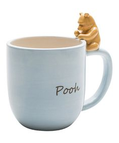 Take a look at this Winnie the Pooh Figurine Mug by Zak Designs on #zulily today! 11.99