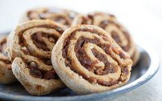 Hearty and comforting, these subtly sweet pumpkin and pecan cinnamon rolls can be made a day ahead and then rewarmed for serving. The dried apricots stand in for traditional sweeteners in this recipe and add an addictive tang to the pumpkin filling.