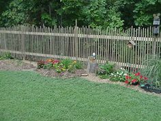 Tobacco Stick Garden Fence
