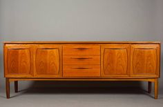 Los Angeles: Mid Century / Danish Long Teak Vintage Credenza / Sideboard 1960s $1095 - http://furnishlyst.com/listings/127903