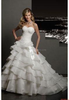 Vestidos de noiva Madeline Gardner 37033 2012