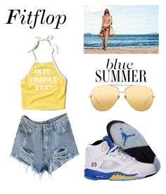 """""""fleek or week"""" by destinyrivers58 on Polyvore featuring Hollister Co., NIKE and Linda Farrow"""
