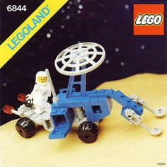Baukästen & Konstruktion Lego Minifigur Classic Space mit Airtank LEGO Bau- & Konstruktionsspielzeug