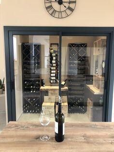 Wine Cellar, Industrial Design, Man Cave, Liquor Cabinet, Kitchen Design, New Homes, Flooring, Caves, Storage