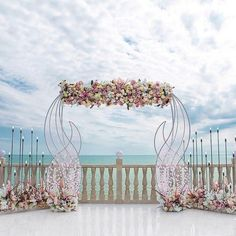 Wedding Arches and Backdrops from nebodecor #wedding #weddings #weddingideas #himisspuff Wedding Stage, Wedding Tips, Wedding Events, Wedding Arches, Beach Wedding Bouquets, Wedding Colors, Wedding Flowers, Beach Weddings, Destination Wedding Locations