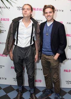 Dylan (Left) and Cole Sprouse (Right) attend The 2014 Tribeca Film Festival After Party Of Gia Coppola's Palo Alto, Hosted By Farfetch At Up&Down....