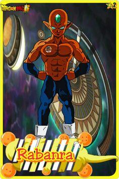 Rabanra- Team Universe 2. Dragon ball super