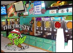 The Frosty Frog Cafe offers the island's largest and most diverse menu of…