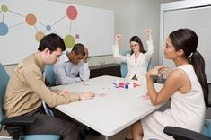 If you are looking for interesting ways to break the ice during office meetings, you must read on. Here is a list of some great icebreaker games for office staff meetings. Icebreaker Activities, Great Icebreakers, Leadership Activities, Activities For Adults, Leadership Development, Teamwork Games, Meeting Ice Breakers, Ice Breakers For Work, Office Ice Breakers