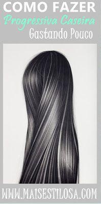 PROGRESSIVA CASEIRA: Baratinha com Produtos da sua Cozinha - Mais Estilosa Beauty Care, Beauty Hacks, Hair Beauty, Cute Hairstyles, Straight Hairstyles, Body Hacks, Natural Cosmetics, How To Make Hair, Hair Today
