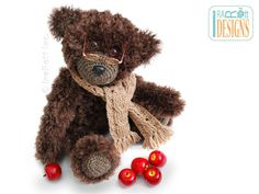 Teddy Bear Elvis Balthazar the Third PDF Crochet Pattern