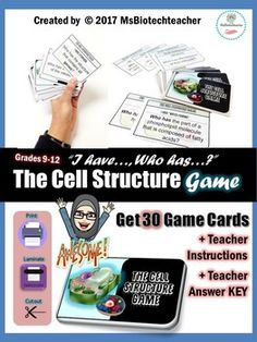 Dna structure lab paper model teacher students and activities plant and animal cell game i have who has fandeluxe Images