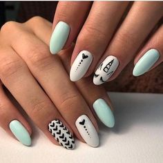 summer nails nail Best Summer Nail Designs - 35 Colorful Nail Ideas You Can Do It Yourself At Home New 2019 - Page 5 of 35 - clear crochet Stylish Nails, Trendy Nails, Cute Nails, Fancy Nails, Winter Nail Designs, Nail Art Designs, Nails Design, Salon Design, Winter Nails