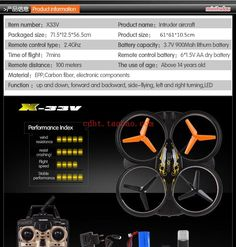 2015 newest Hot sell RC TOYS X33V Cool&best Large Scale 2.4G 4CH Foam RC quadcopter helicopter drone&model plane birthday gift