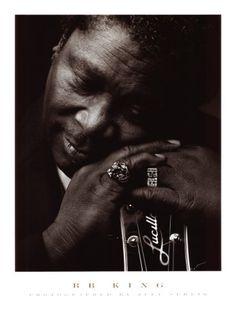 B.B. King (by Jeff Sedlik). RIP, Mr. King.