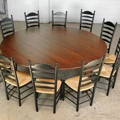 8 Round Cherry Table By Devin Ulery