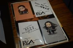 The cards we made for @RCArmitage with his name and the word 'uncle' in Chinese! lol #RichardArmitage #TheHobbit