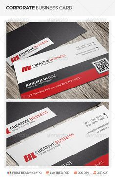 117 best business cards psd with qr code images on pinterest buy corporate qr code business card by mengloong on graphicriver corporate qr code business card template this elegant corporate business card template in colourmoves