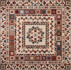 Karen Styles: Robins Nest - medallion quilt - Australia quilt shop