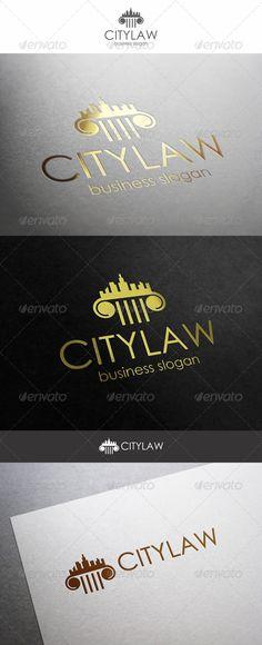 City Law Logo Firm