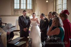 Newlyweds after the register has been signed at Lulworth Estae church wedding #wedding #ido  #herecomesthebride #groom #bride #ceremony