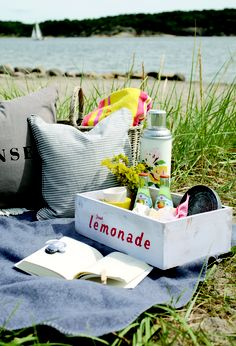 Heart Handmade UK: July's Summer Picnic Inspiration and Picnicware