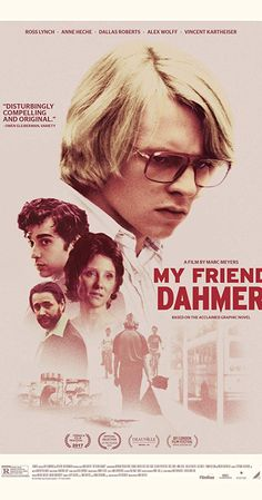 New Poster for Biopic Crime-Drama 'My Friend Dahmer' - Starring Ross Lynch as Notorious Serial Killer Jeffrey Dahmer Jeffrey Dahmer, Streaming Vf, Streaming Movies, Hindi Movies, Movies To Watch, Good Movies, Movies Free, Disney Pixar, Vincent Kartheiser