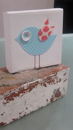what a cute idea! and easy to make with any fabric choice:)