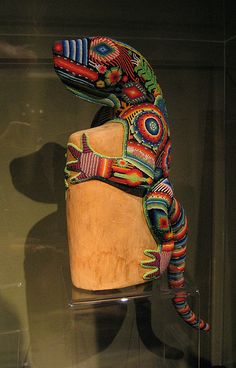 Huichol bead sculpture I