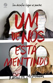 um de nós está mentindo - karen m. I Love Books, Books To Read, My Books, This Book, Nerd, World Of Books, Quotes For Kids, Romance Books, Love Reading