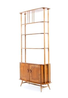 Anonymous; Wooden Storage Unit by Ercol, 1960s. Via Mr. Bigglesworthy.