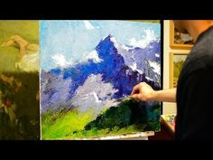How to paint with a knife? Tips for beginners. - YouTube