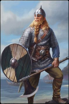 Viking Jarl lands at Wareham, Axehead much too large, otherwise seems accurate.