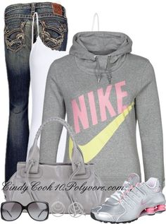 """""""Love A Hoodie and Jeans Day"""" by cindycook10 on Polyvore"""