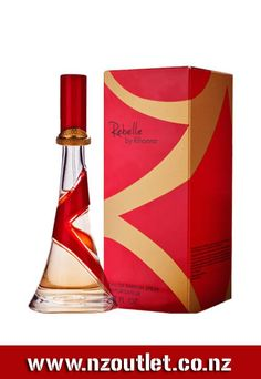 #Rihanna_Rebelle EDP Rihanna Rebelle is a delightful enticement bringing to mind not only the warmth of the Carribbean sun, reflecting Barbados-born Rihanna's roots, but also the exhilarating whirl of her present-day city life. http://nzoutlet.co.nz/product/product_details/RIHANNA-REBELLE-EDP